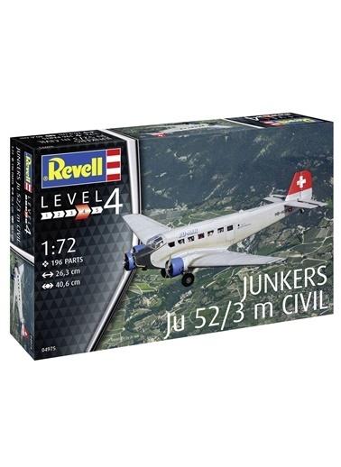 Revell  Maket Junkers Ju52-3M Civil Vsu04975 Renkli